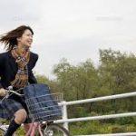 女装制服高校生サイクリングダイエット!?女装してセーラー服や制服を着て自転車に乗り楽しみながらダイエット #女装