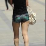 ブルマみたいなお尻が出るくらいのショートパンツスタイル!なんて検索するの?LA女子みたいなド派手ショーパン女装子になろう! #女装