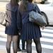 女子高生とストッキングタイツ事情。黒タイツ~40デニールが主流。20デニール以下は稀。